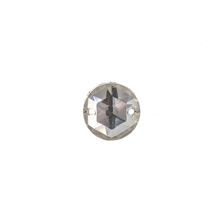 S/0 STONE GLASS 10mm ROUND CRYSTAL image