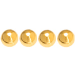 "PEARLS 8mm 60"" GOLD JAPAN image"