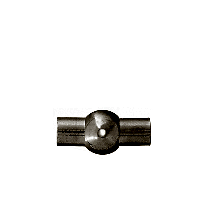 Magnetic Clasp-Tube CenterBall 15.5mm Gunmetal LF/NF(10pcs) image