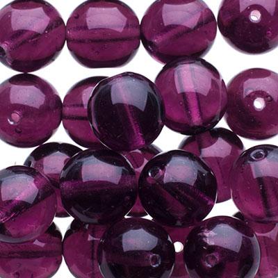 50pcs Pastel Lilac Purple Czech Glass Dagger Beads Flat Leaf 3mm x 11mm