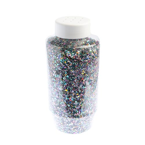 GLITTER FLAKES VIALS Large Jar Multi w/Sifter Top image