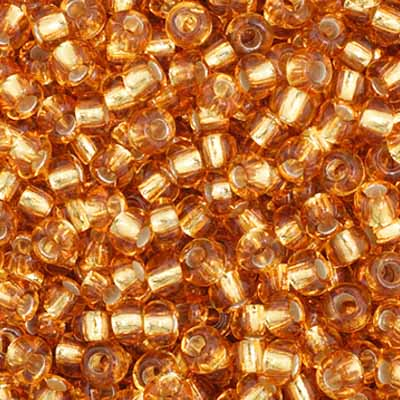 Czech Seed Bead 11/0 S/L Gold apx23g image