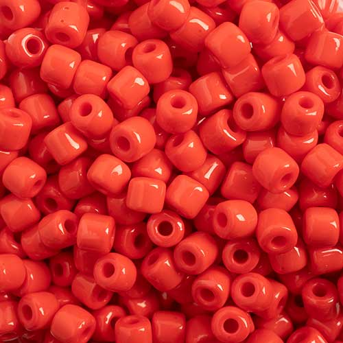 Rola Beads 4.5mm Opaque 100g Red image