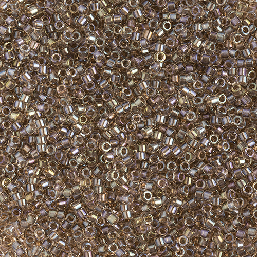 Delica 11/0 Round Fancy Lined Taupe image