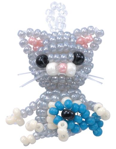 DIY Miyuki Bead Kit Black Cat charm Japanese Craft Kit BFK-429