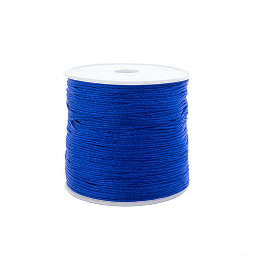 Nylon Beading Knotting Cord 0.8mm 90m apx 100yds/Spool Royal Blue image