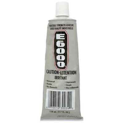 Glue E-6000 Clear 3.7fl.oz (110mL) image