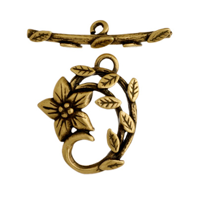 Toggle - Jasmine Star 18mm Antique Brass image
