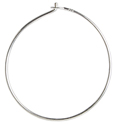 SS.925 BEADING HOOPS 24MM OD.029in/.7mm WIRE APRX 3.40GM image