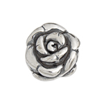 SS.925 BEAD ROSE HOLLOW 15mm image