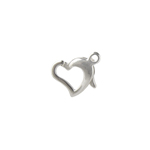 SS.925 FLOATING HEART CLASP 9.5x8mm APRX. 6.8g image