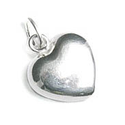SS.925 HEART CHARM W/ JUMPRING 10X11MM image