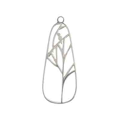 SS.925 Pendant Woodland Pear 12x31mm image