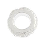 SS.925 BEAD SPACER FANCY 9.0mm - 5.0mm LARGE HOLE image