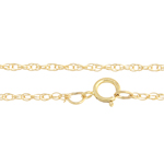 "GF 14KT NECKLACE ROPE 18"" image"