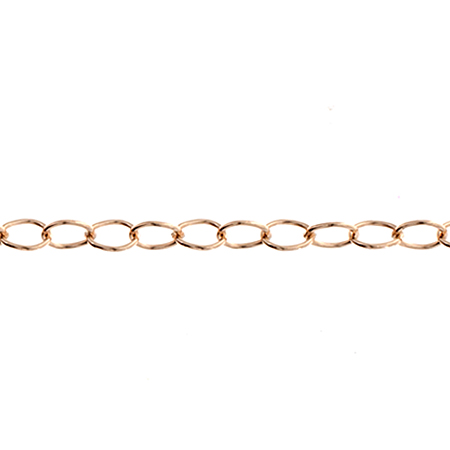 RGF 14K 1812 Cable Chain (2.6mm) Aprx 1.31g / foot image