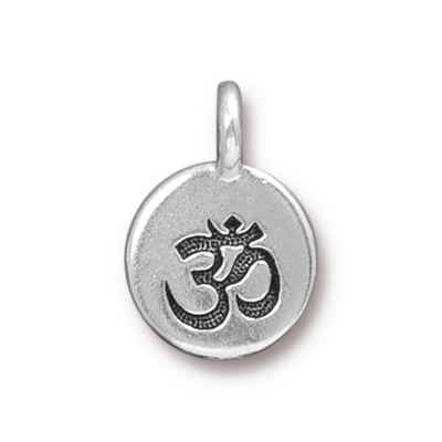 T.C. - Charm Om Antique Silver image